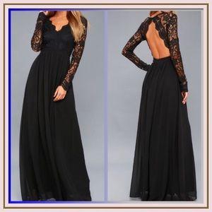 Awaken My Love Long Sleeve Maxi Dress